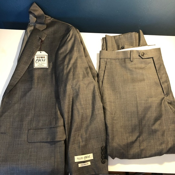 Jos. A. Bank Other - Jos A Bank 1905 Collection Tailored Fit Plaid Suit
